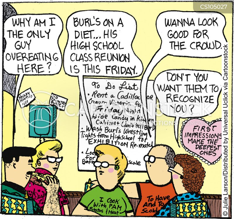 Class Reunion Cartoons and Comics - funny pictures from ...