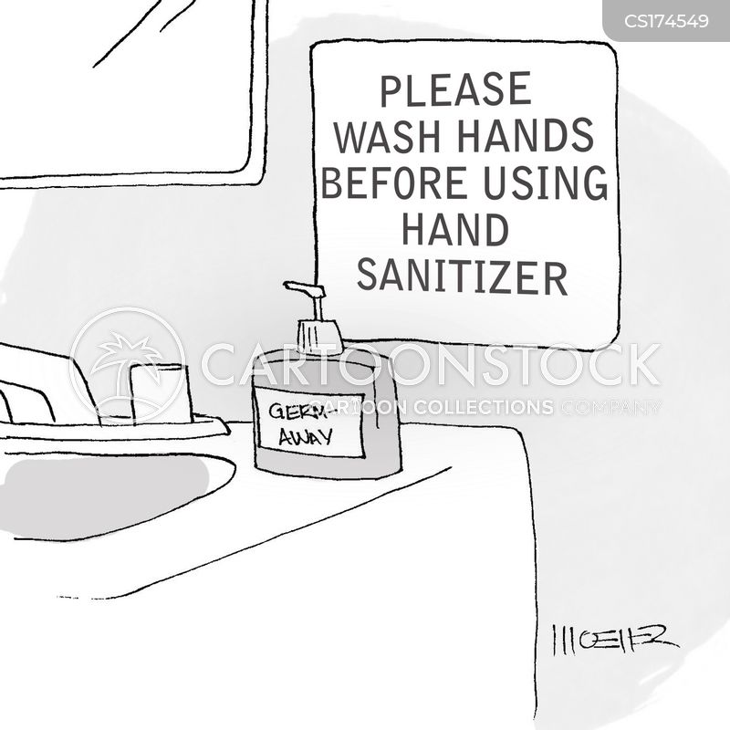 Dirty Hands Cartoons and Comics - funny pictures from ... |Funny Hand Washing Cartoons