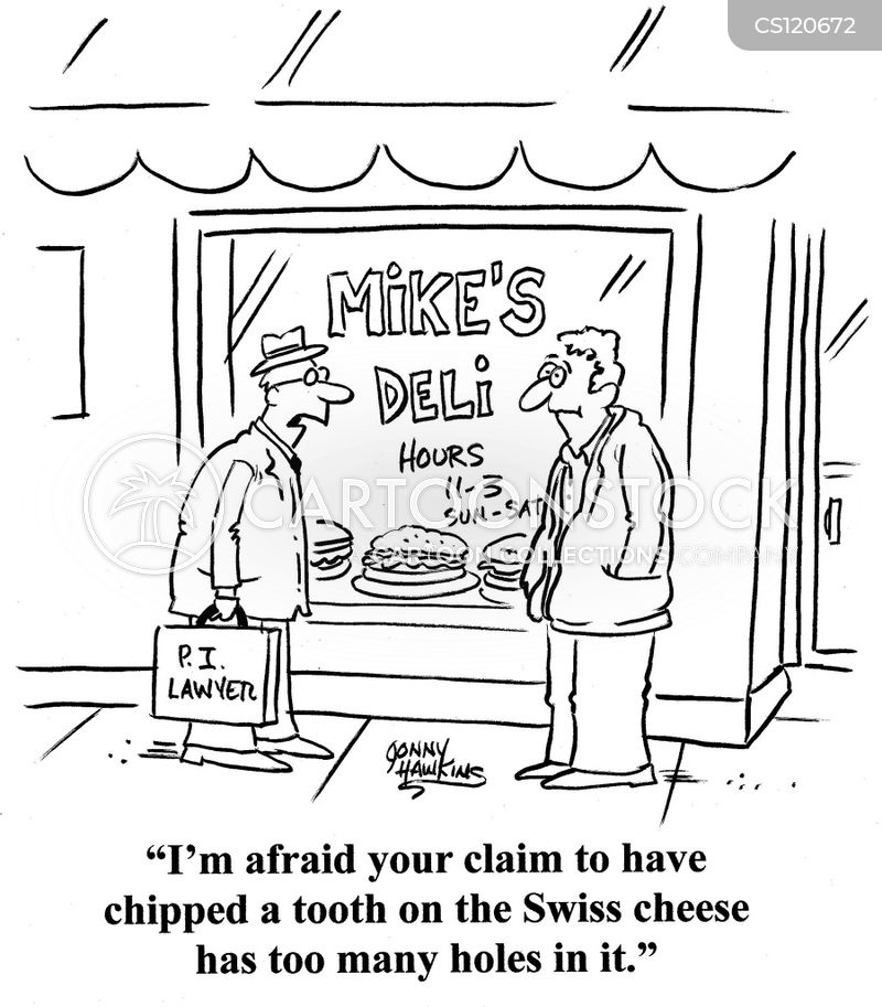 Personal Injury Lawyer Cartoons And Comics Funny