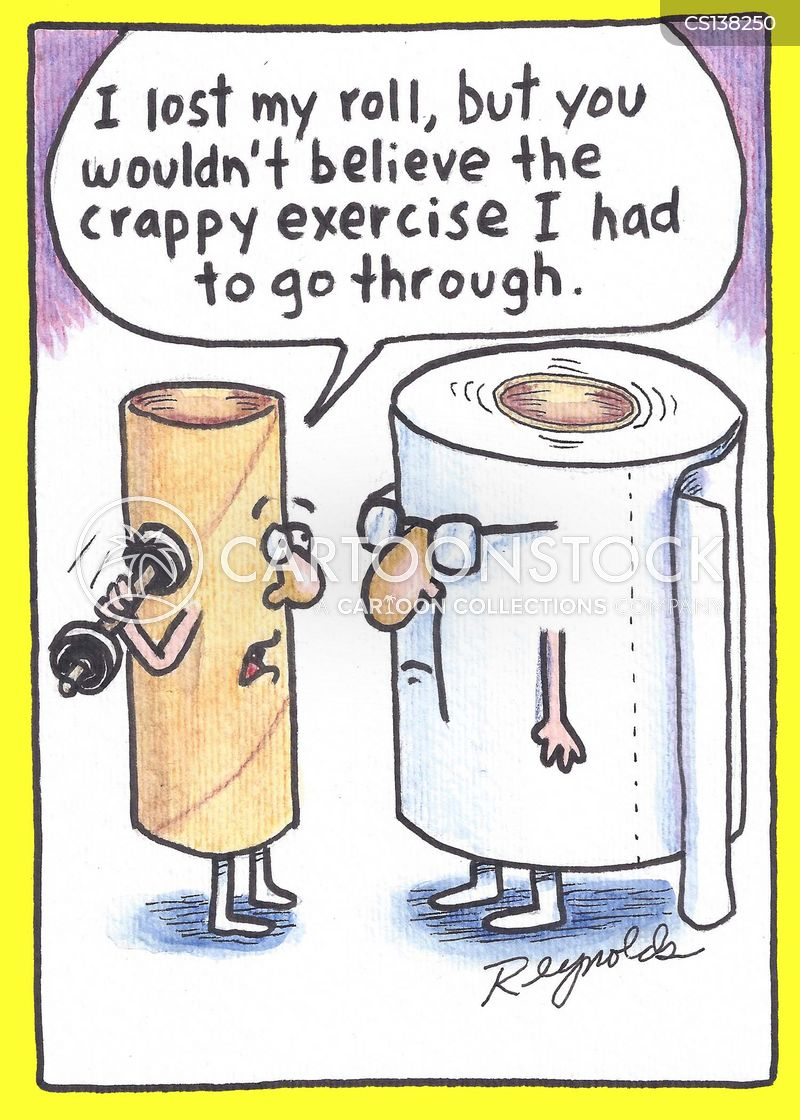 Toilet Papers Cartoons and Comics - funny pictures from ...