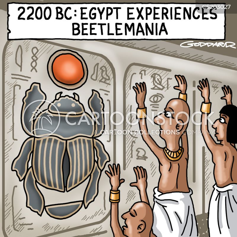 Funny Pictures About Egypt: Egyptian Gods Cartoons And Comics