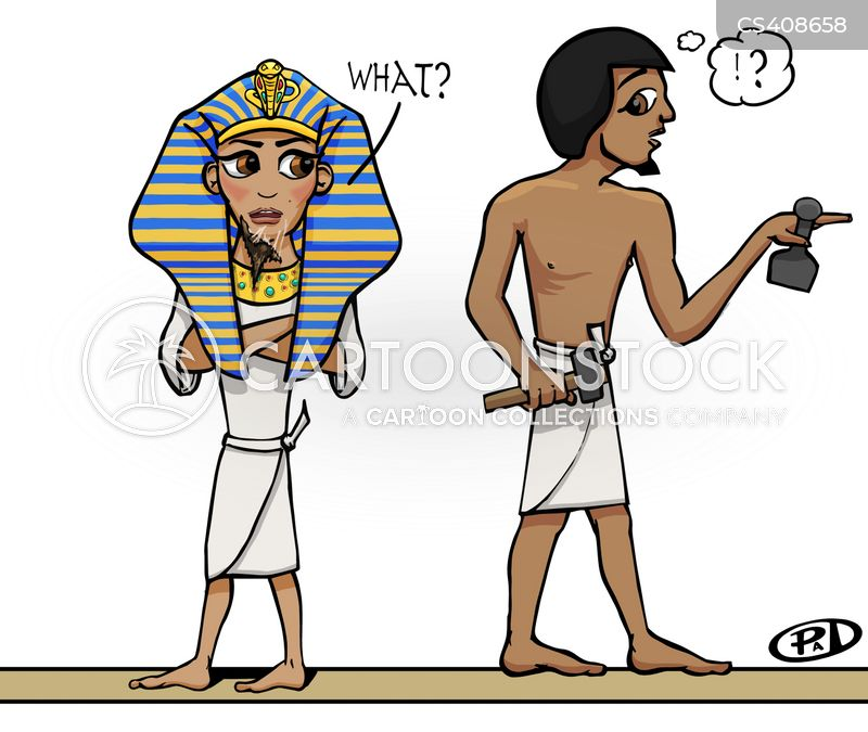 Funny Pictures About Egypt: Egyptian Kings Cartoons And Comics