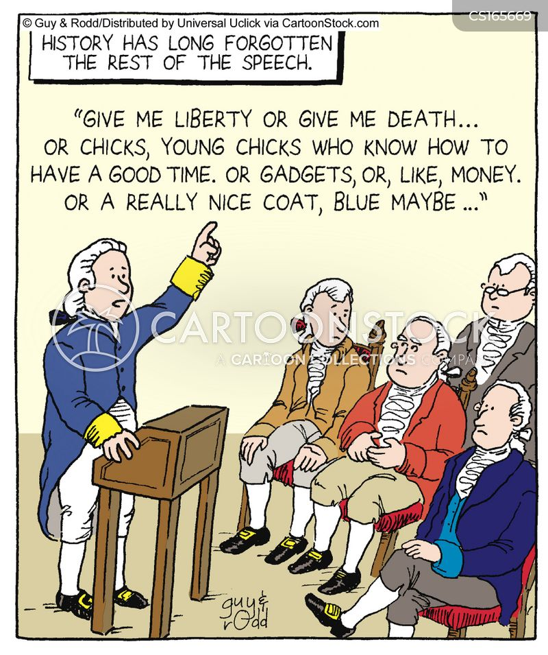 "the use of rhetoric in patrick henrys speeches Name: _____ period: _____ ap language and composition, ms doolittle mc quiz: patrick henry's ""speech before the virginia convention."