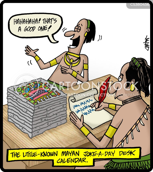 Maya Cartoons And Comics Funny Pictures From Cartoonstock