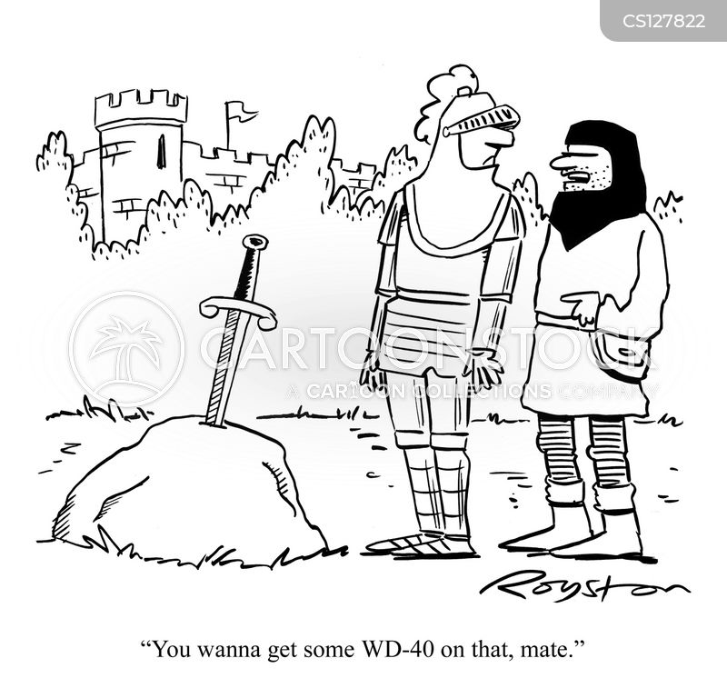 Medieval Knight Cartoons And Comics Funny Pictures From