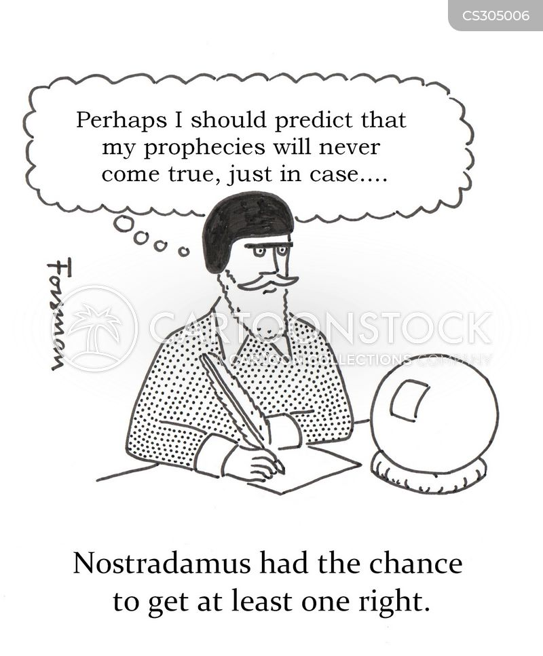 Freddy vs. Nostradamus Cartoon Parody Reveals Who Really ...