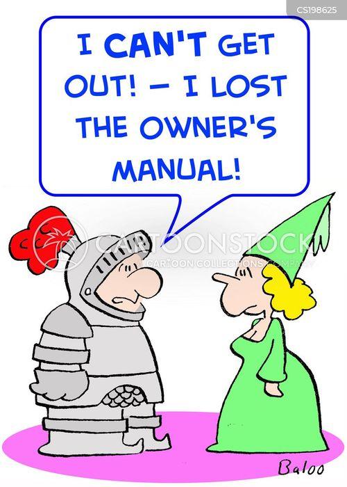 Instruction Manual Cartoons And Comics