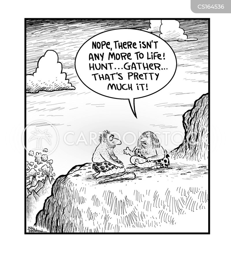 Hunter Gatherer Hunter Gatherer Cartoon 2 of