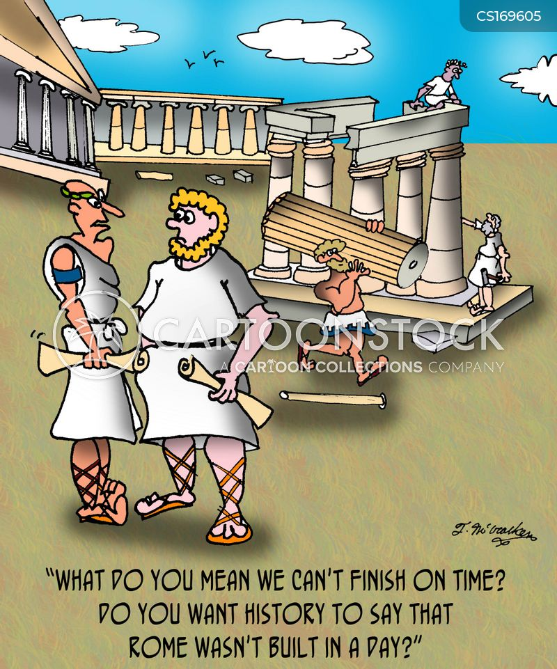 Ancient Roman Cartoons And Comics Funny Pictures From