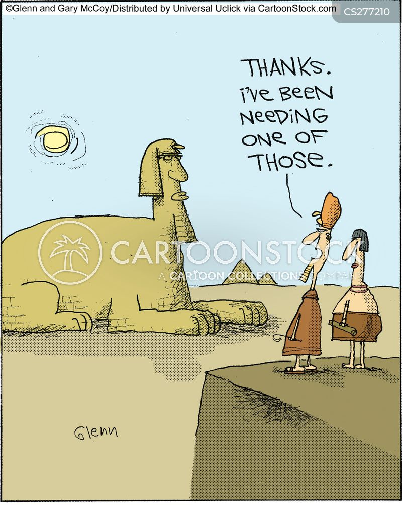 ancient mysteries cartoons and comics   funny pictures