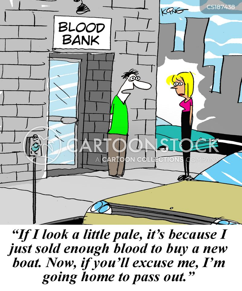 give blood cartoons and comics funny pictures from