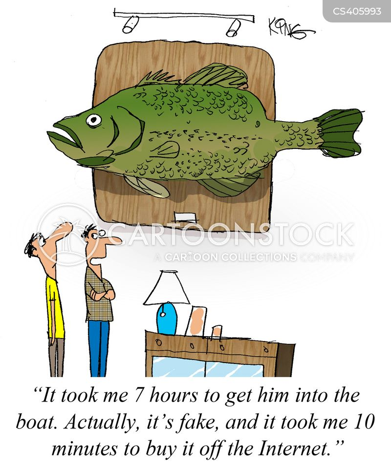 Fishing story cartoons and comics funny pictures from for Where to buy fishing license near me