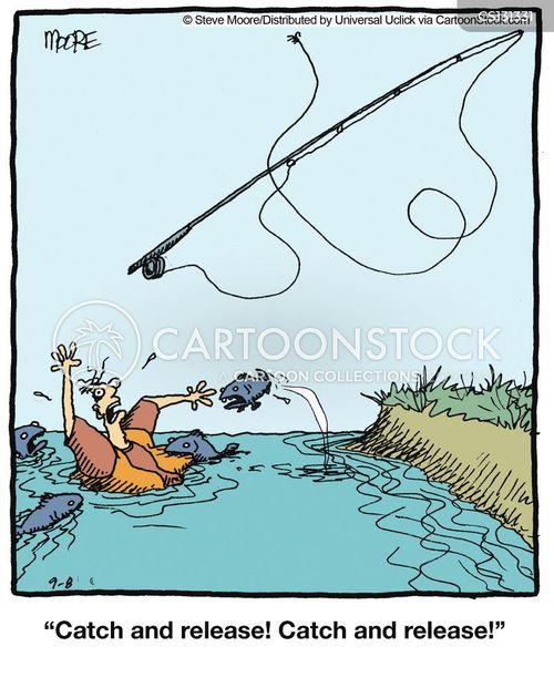 Fishing catch cartoons and comics funny pictures from for Funny fishing cartoons