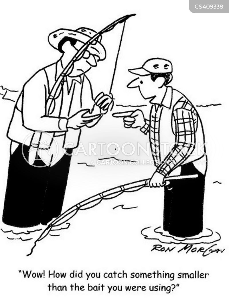 Fishing tale cartoons and comics funny pictures from for Where to buy fishing license near me