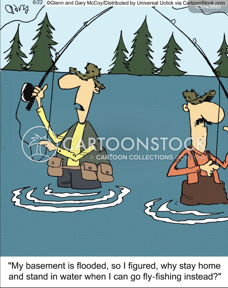 Fishing techniques cartoons and comics funny pictures for Funny fishing cartoons