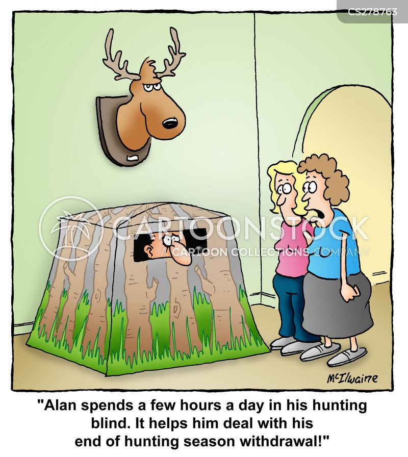 Hunting blinds cartoons hunting blinds cartoon funny hunting blinds