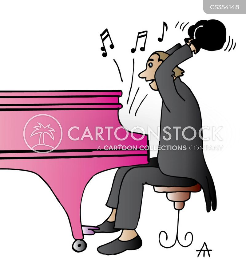 Piano Cartoon, Piano Cartoons, Piano Bild, Piano Bilder, Piano Karikatur, Piano Karikaturen, Piano Illustration, Piano Illustrationen, Piano Witzzeichnung, Piano Witzzeichnungen