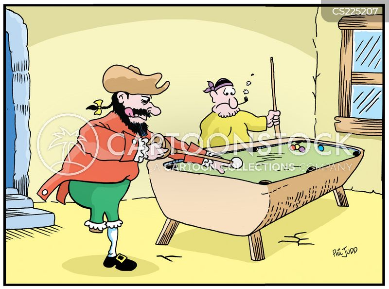 Pool Cues Cartoons And Comics Funny Pictures From