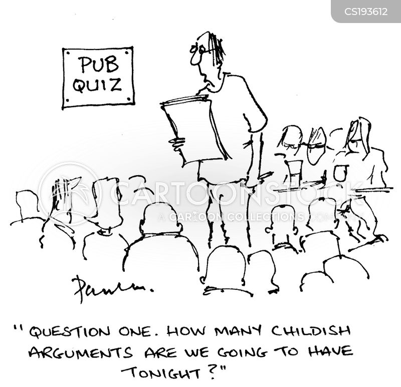 Pub Quiz Cartoons And Comics Funny Pictures From