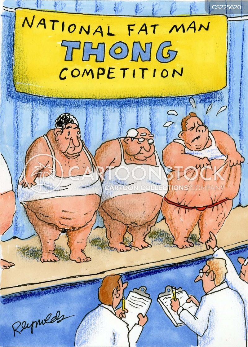 Obese Women In Thong National fat man thong