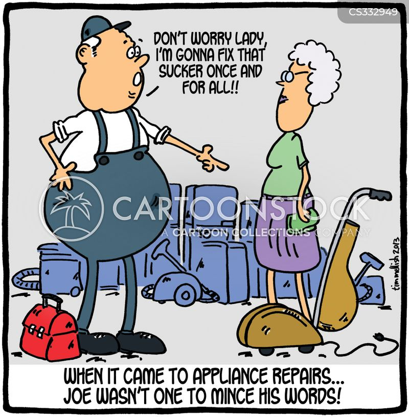 Repair Men Cartoons And Comics Funny Pictures From