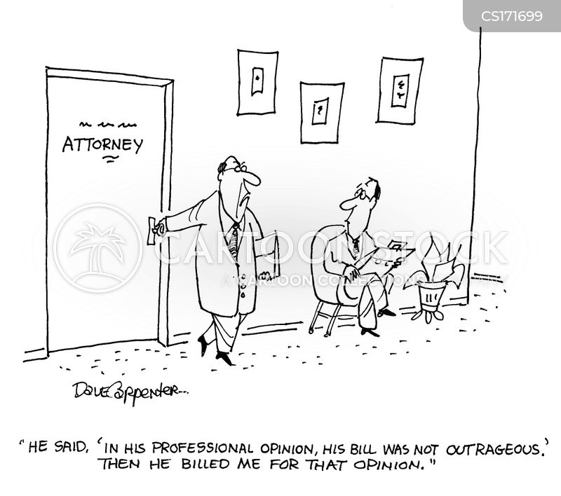 Attorney Fees Cartoons and Comics - funny pictures from ...