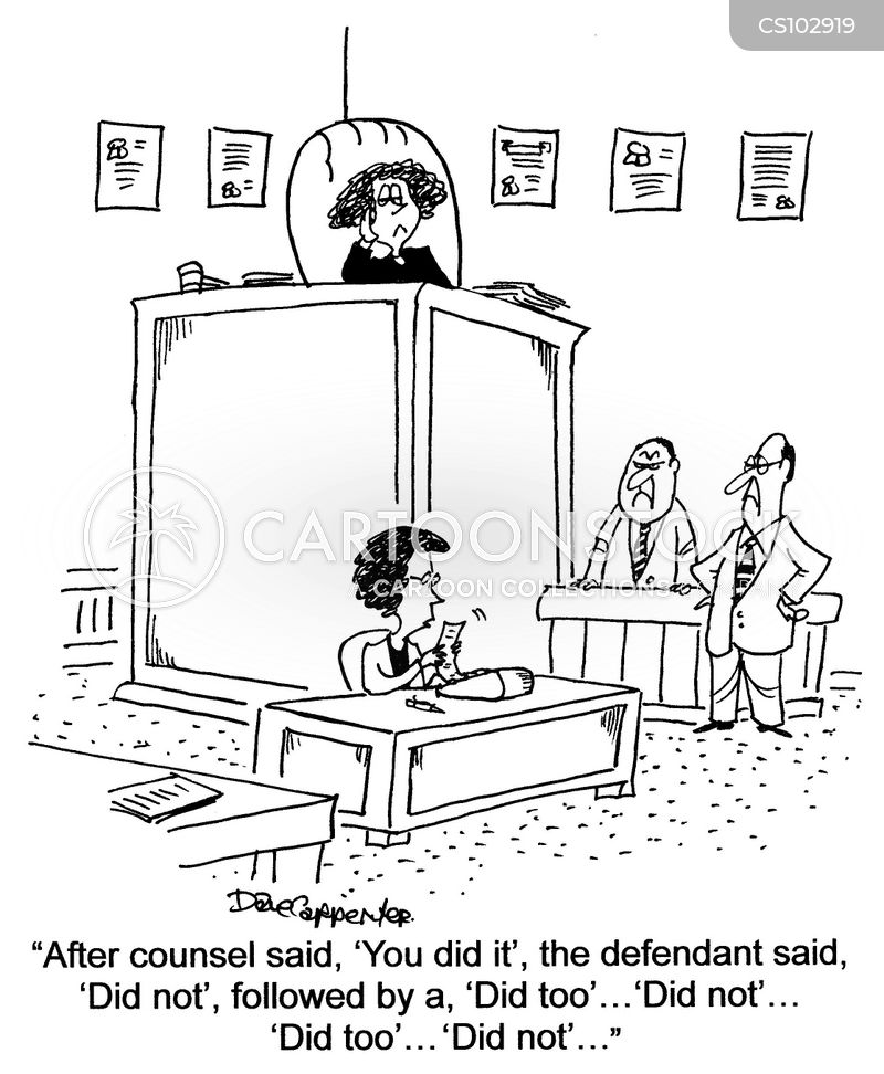 Court Clerk Cartoons and Comics - funny pictures from ...