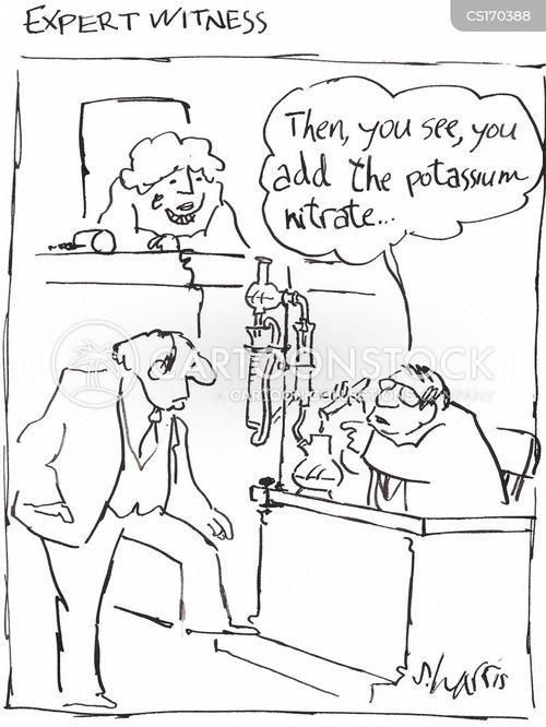 expert witness cartoons and comics