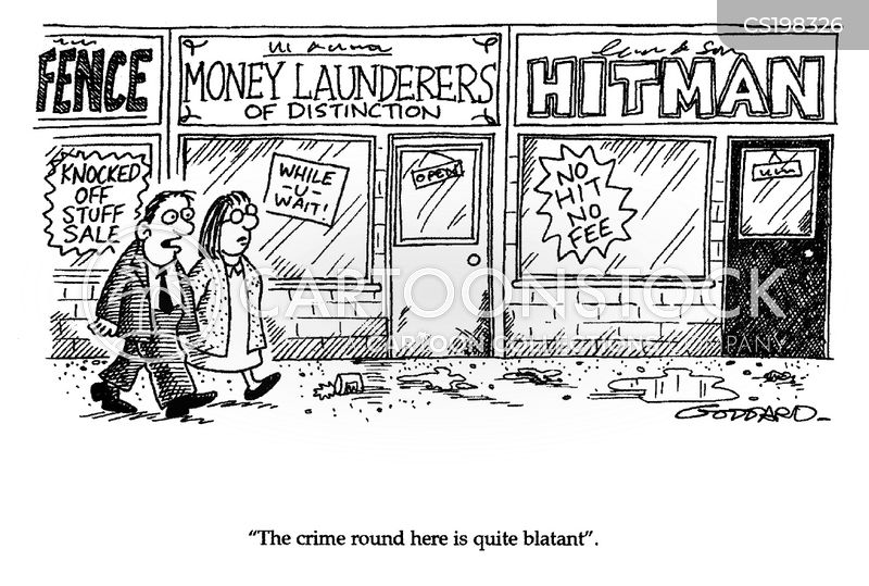 Money Laundering Cartoons And Comics Funny Pictures From