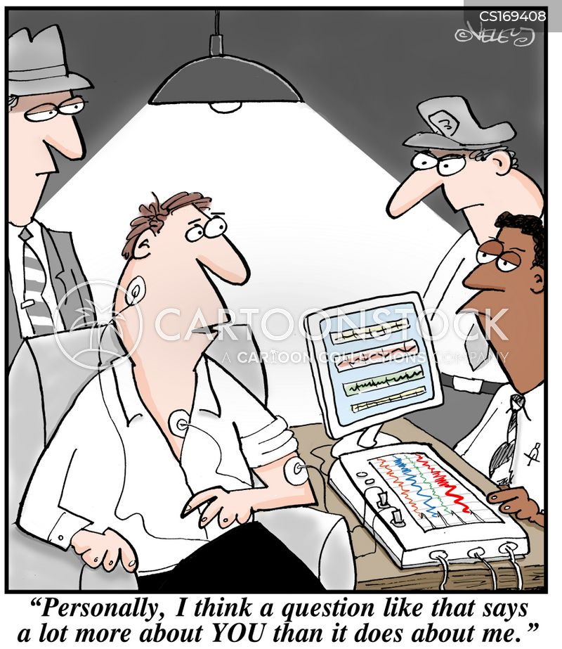 Lie Detector Cartoons And Comics Funny Pictures From