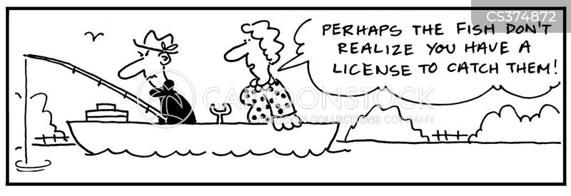 Fishing license cartoons and comics funny pictures from for Where to get fishing license