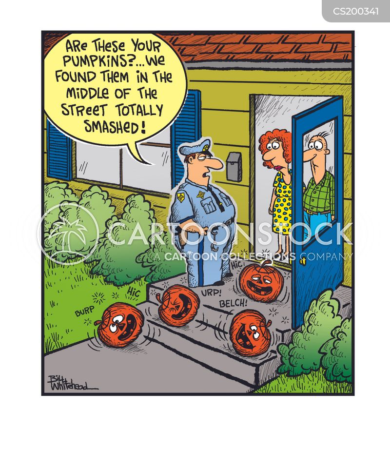 Halloween Decoration Cartoons and Comics - funny pictures from ...
