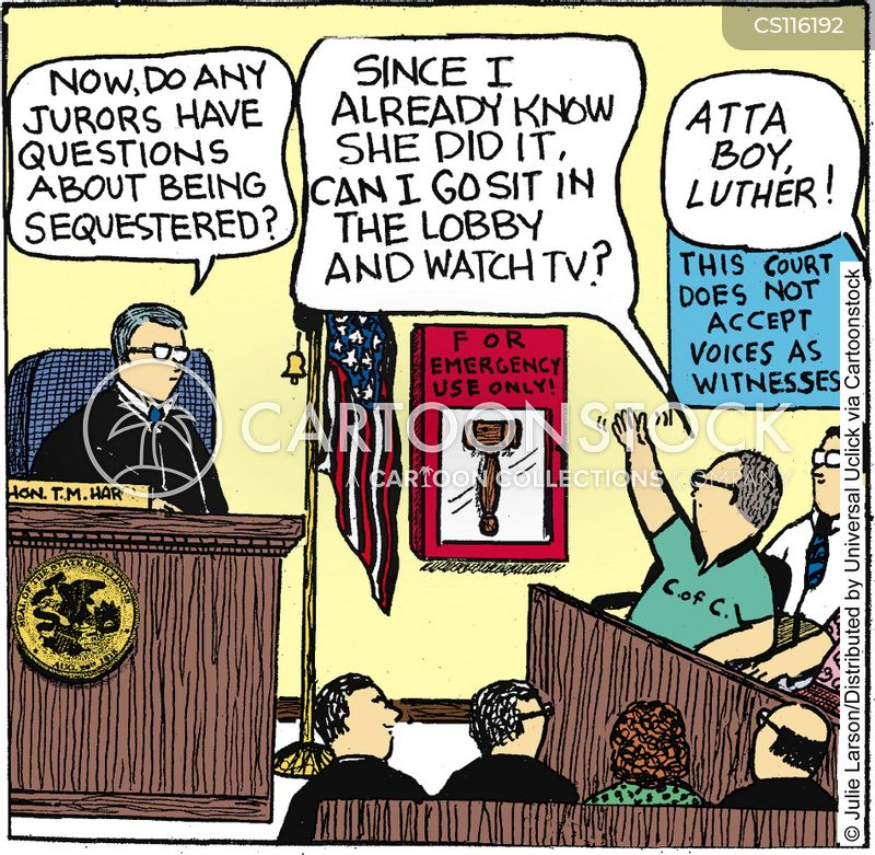 jury duty cartoons and comics funny pictures from