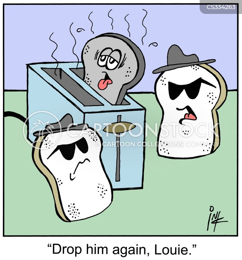 Toaster Cartoon, Toaster Cartoons, Toaster Bild, Toaster Bilder, Toaster Karikatur, Toaster Karikaturen, Toaster Illustration, Toaster Illustrationen, Toaster Witzzeichnung, Toaster Witzzeichnungen
