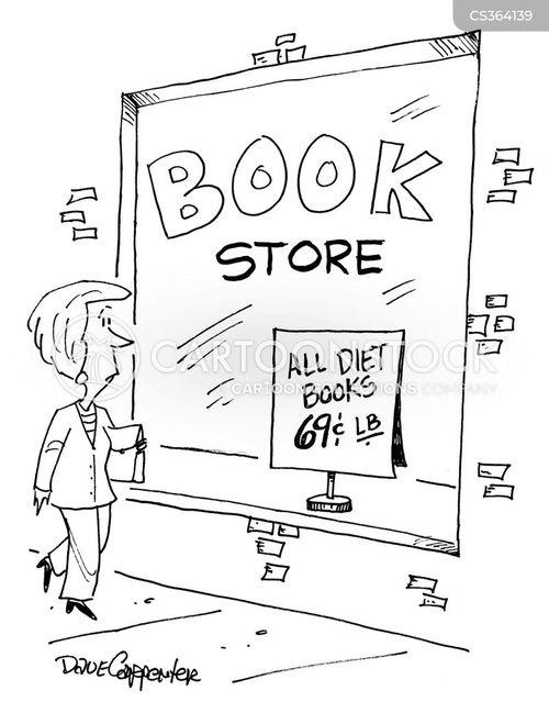 diet book cartoons and comics
