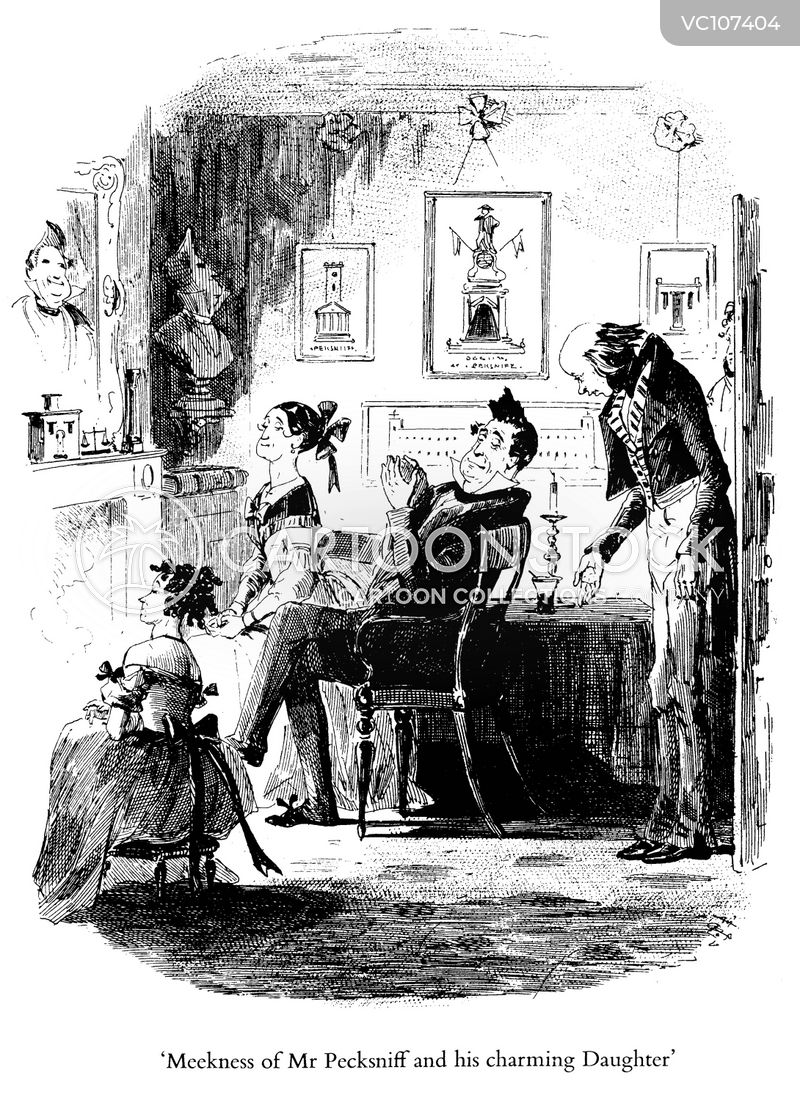 Dining Room Vintage and Historic Cartoons : literature dickens cdickens pecksniff meek fire csl1001low from www.cartoonstock.com size 400 x 550 jpeg 95kB