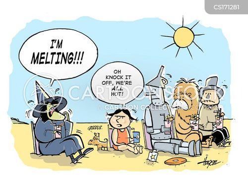summer heat cartoons Quotes