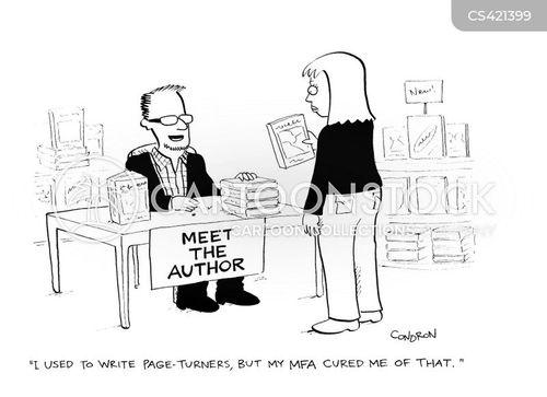 Popular fiction authors