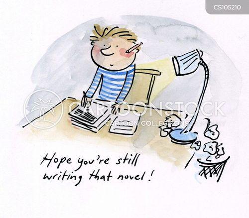 1st Grade Writing Prompts #5: Cartoons