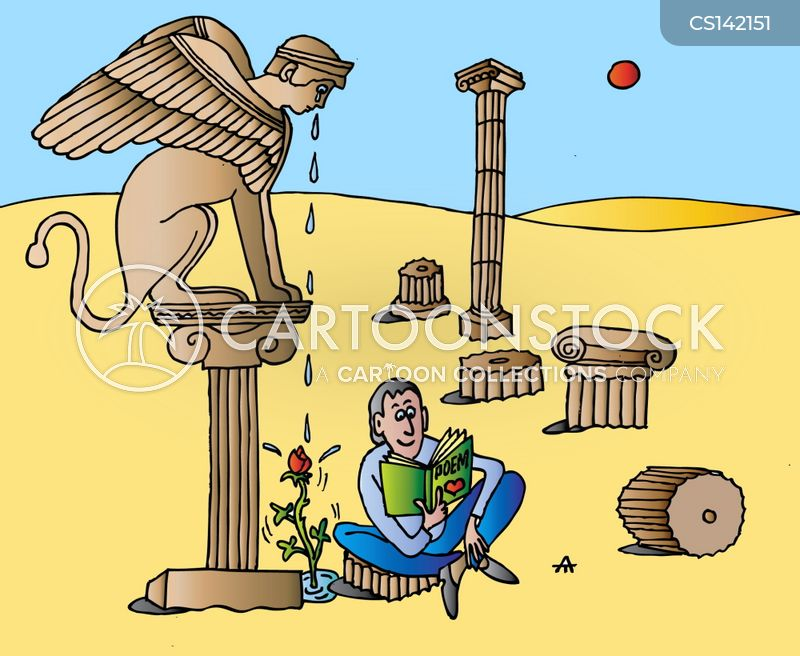 Sphinx Cartoon, Sphinx Cartoons, Sphinx Bild, Sphinx Bilder, Sphinx Karikatur, Sphinx Karikaturen, Sphinx Illustration, Sphinx Illustrationen, Sphinx Witzzeichnung, Sphinx Witzzeichnungen