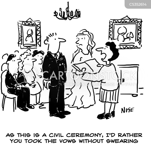Civil Ceremonies Cartoons And Comics