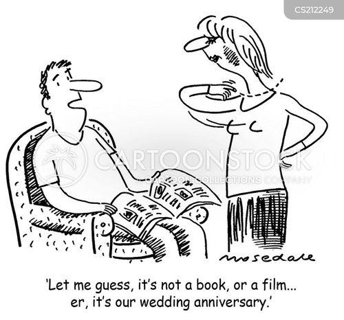 Forgotten Wedding Anniversary Cartoons And Comics Funny