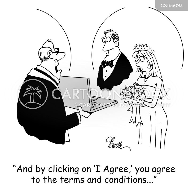 Contract Cartoons And Comics Funny Pictures From Cartoonstock