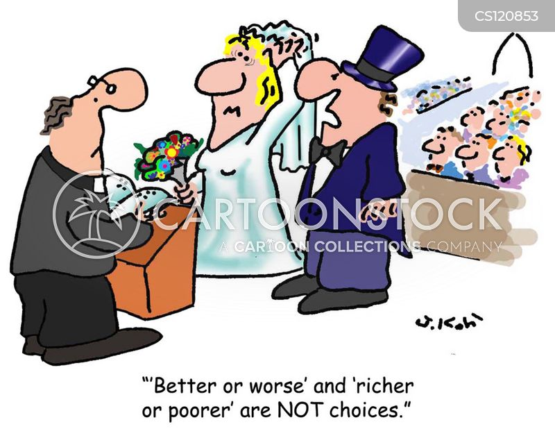 Church Weddings Cartoons And Comics Funny Pictures From Cartoonstock