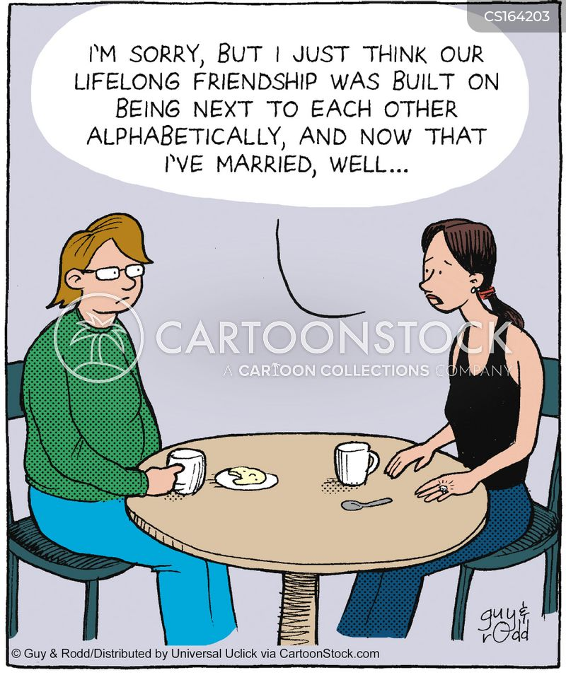 Friendship Cartoons And Comics Funny Pictures From Cartoonstock
