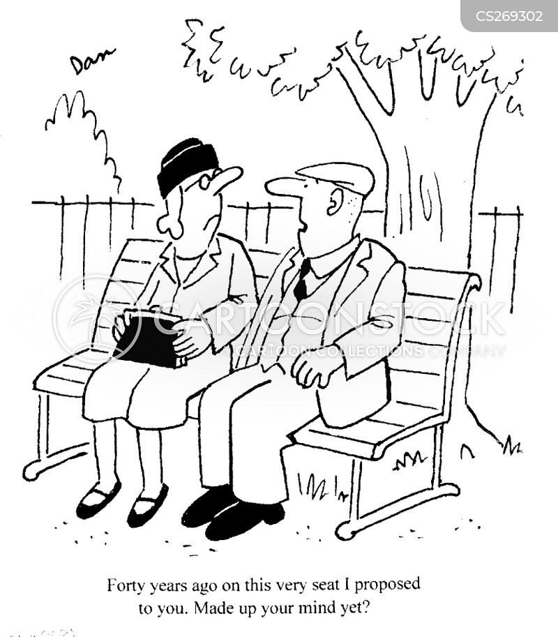 older couple cartoons and comics   funny pictures from