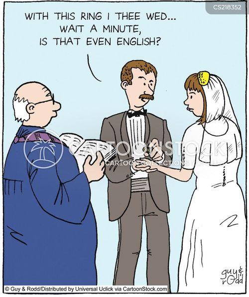 Wedding-ring Cartoons And Comics
