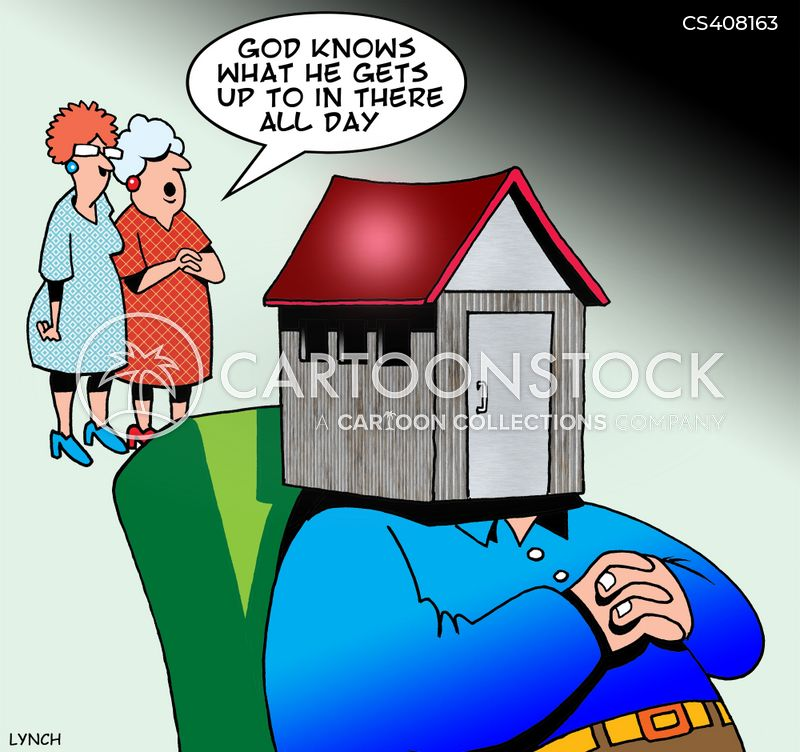 Garden Shed Cartoons And Comics Funny Pictures From