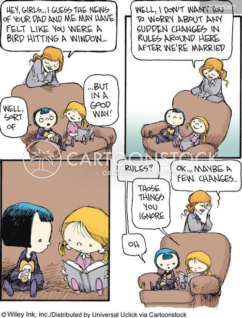 stepmom cartoon