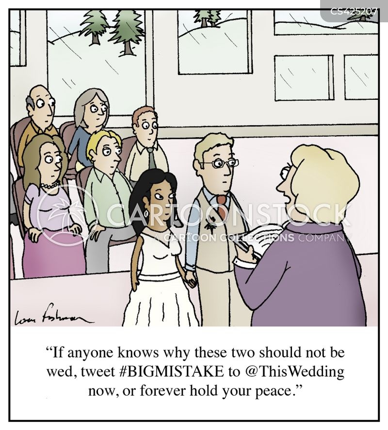 Officiants Cartoons And Comics Funny Pictures From Cartoonstock